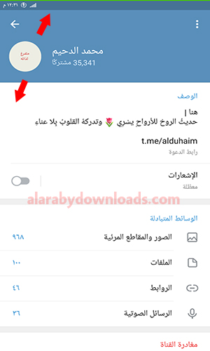 تحديث تليجرام 2020 عربي Telegram Update